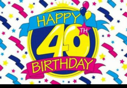 Cadouri aniversare: o zi de 40 de ani!