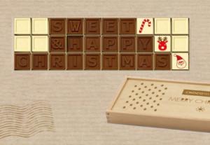 Cadou Sweet Message telegrama din ciocolata ciocotelegrama - complice.ro