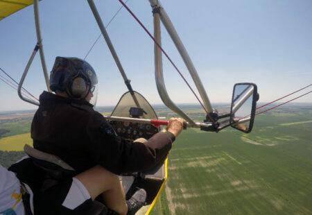 cadou Zbor cu motodeltaplanul si brevet onorific de copilot - complice.ro