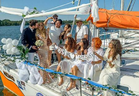 cadou - Casatorie pe yacht la Marea Neagra