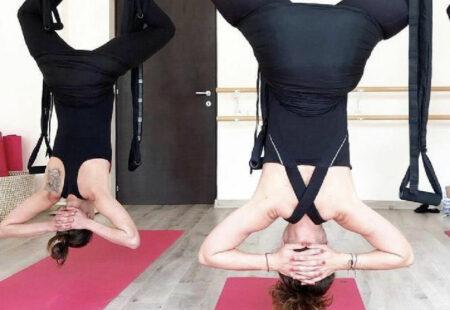 cadou Relaxare in toate felurile pentru 2 persoane: air yoga si masaj - complice.ro